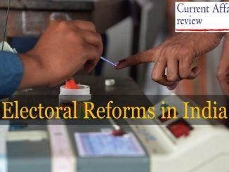 Electoral Reforms in India