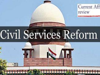 Civil Services Reform