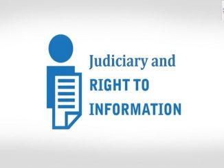 Judiciary and Right to Information