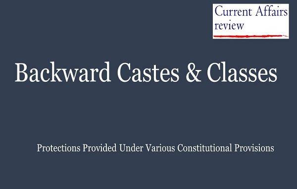 Backward Castes & Classes
