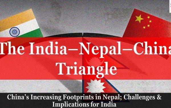 The India-Nepal-China Triangle