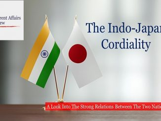 The Indo-Japan Cordiality