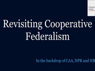Revisiting Cooperative Federalism