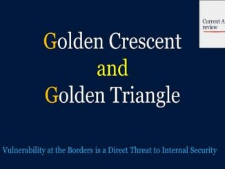GOLDEN CRESCENT AND GOLDEN TRIANGLE