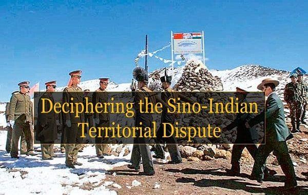 Deciphering the Sino-Indian Territorial Dispute