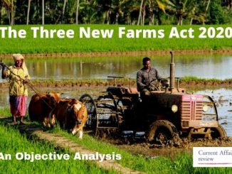 The Three New Farms Act 2020