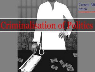 Criminalisation of Politics