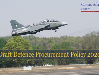 Draft Defence Procurement Policy 2020